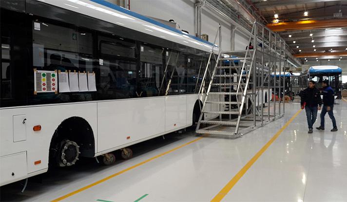 İzmir'de Belediye Ürettiği Elektrikli Otobüsleri Güneş Enerjisiyle Şarj Edecek