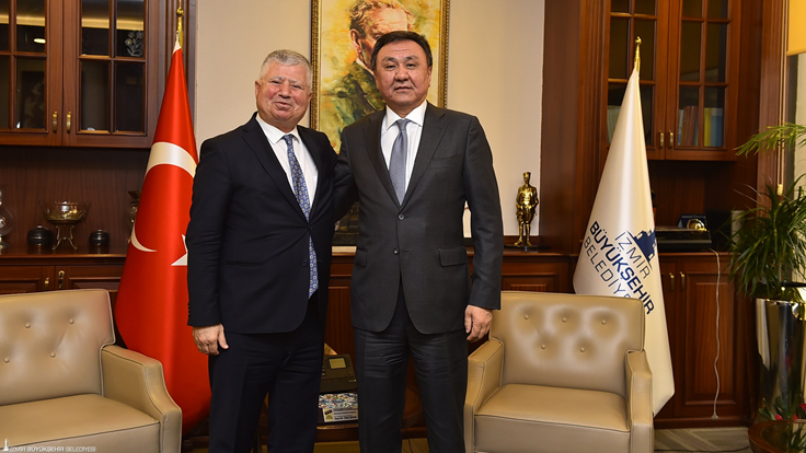 Photo of We're hosting Ambassador of Kyrgyzstan